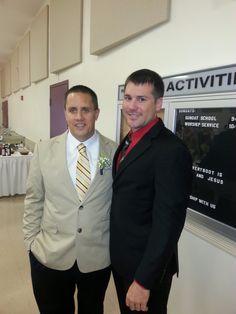 My brother and nephew Matthew