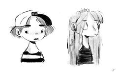 Some Cute Sketch. Kid Character, Female Character Design, Character Design References, Character Concept, Concept Art, Flat Design Illustration, Illustration Art, Cute Sketches, Cute Art Styles