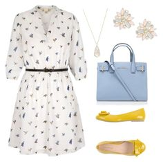 """""""Relaxed Look"""" by paula-marques-1 on Polyvore featuring moda, PrimaDonna, Kurt Geiger, Kendra Scott e Cara"""