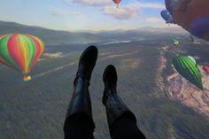 Une impression de voler en surplombant de magnifiques paysages. -