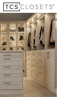 Find The Look For Your Dream Master Closet By Laren