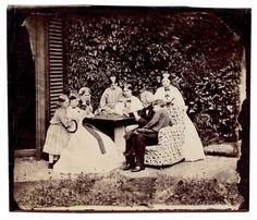 "CHARLES LUTWIDGE DODGSON (Lewis Carroll) -  ""Whist"" - 1862"