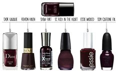 The Hottest Nail Polish: Chanel Vamp/Rouge Noir Lacquer & Affordable Alternatives! - StyleFrizz