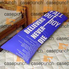 An5-fob Fall Out Boy Logo Body Pillow Case