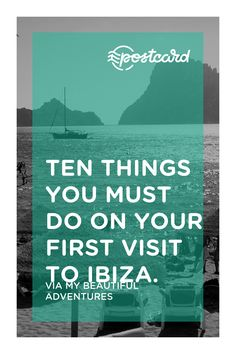 First time in Ibiza? Wondering where to start? There is so much more to Ibiza than meets the eye. If this is your first visit, follow our guide to the top ten things you must do to make your first Ibiza experience one you will never forget!