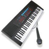 49 Keys Musical Electronic Keyboard - Black - http://shopattonys.com/49-keys-musical-electronic-keyboard-black/