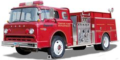 Ford, 6000, Firefighter Vehicle Ford, Country Maps, Car Images, Illustrations, Old West, Free Pictures, Firefighter, Vintage Cars, Transportation