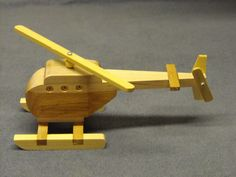 Wooden Toy Helicopter by CraftyWoodenCreation on Etsy