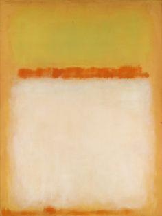 "Mark Rothko, Untitled, 1955, 92"" x 69"""