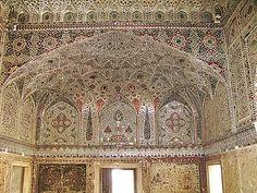 Lahore Fort,  Shish Mahal (Hall of Mirrors), Pakistan