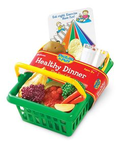 Another great find on #zulily! Healthy Dinner Play Set #zulilyfinds