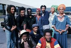 The Marley Family — Bob Marley & The Wailers, Holland 1976 Photo by. Bob Marley Legend, Reggae Bob Marley, Calypso Music, Bob Marley Pictures, Dennis Brown, Marley Family, Reggae Artists, Robert Nesta, Nesta Marley