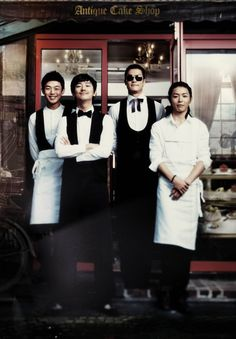 Antique Bakery - the first Korean thing I'd ever watched. Quickly led me on to Coffee Prince and then further down the rabbit hole.