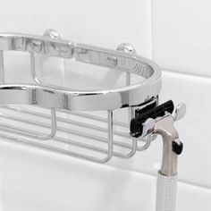 Buy the Ginger Polished Chrome Direct. Shop for the Ginger Polished Chrome Splashables Razor Holder Attachment for Shower Baskets and save.