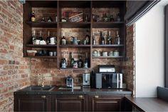 Маленькая кухня в стиле лофт