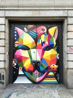 okuda street artist