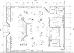Clothing Boutique Floor Plan Design Portfolio