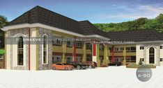 One Storey School Building Plan design in Nigeria (portharcourt) School Building Design, School Hall, Penthouses, Plan Design, Hostel, Bungalow, Sweet Home, Real Estate, House Design