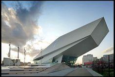 Eye Film Institute - Amsterdam, The Netherlands (Delugan Meissl Associated Architects)