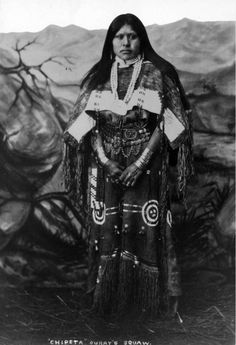 Susan (Native American, Ute), sister of Chief Ouray - 1880/1900
