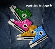 Colgante ALL STAR by ♥ Pompitas de Algodón ♥, via Flickr
