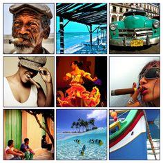 poster of Cuba. FalconFabrics.com.au