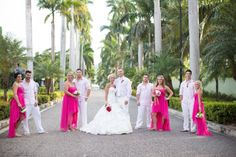 Pink & White Wedding Party || PHOTO SOURCE • SIMPLY SWEET PHOTOGRAPHY BY NOMO AKISAWA