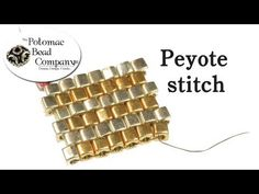 Peyote Stitch Instructions.wmv