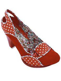 Irregular Choice Lady bug shoes