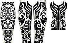 Polynesian Leg Tattoo, Maori Tattoo Arm, Polynesian Tattoo Designs, Maori Tattoo Designs, Hawaiian Tattoo, Samoan Tattoo, Mayan Tattoos, Top Tattoos, Black Tattoos