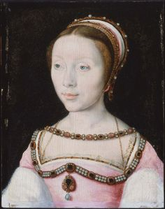 Françoise de Longwy  about 1527 Circle Of Corneille de Lyon (French, active by 1533, died in 1575)