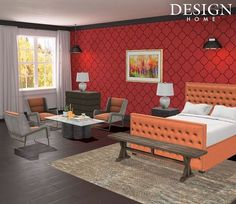 Scarlet Suburban #designhome #bedroom #bedroomstyle #bedroomideas #bedroomgoals #bedroominterior #bedroominspiration #bedroomdecor #bedroomdesign - Architecture and Home Decor - Bedroom - Bathroom - Kitchen And Living Room Interior Design Decorating Ideas - #architecture #design #interiordesign #diy #homedesign #architect #architectural #homedecor #realestate #contemporaryart #inspiration #creative #decor #decoration