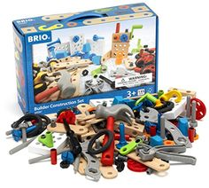 Brio Builder Construction Set Building Kit , 135 Pieces Brio…