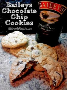 Baileys Chocolate Chip Cookies