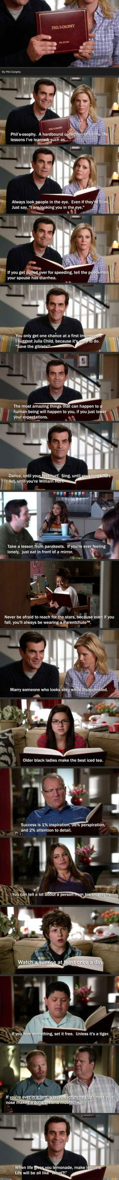 3 life love lessons modern family