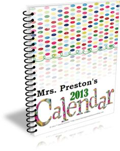 Need a new personal planning calendar?  Available in 8 different themes, use them digitally or print off and bind!  $