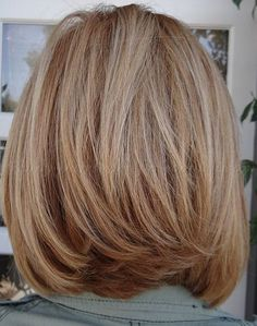 shoulder length hairstyles over 50 - long bob hairstyle for women over 50