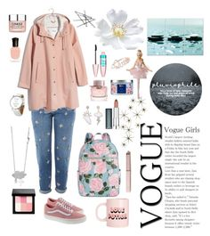 """""""Untitled #23"""" by zarmon ❤ liked on Polyvore featuring Topshop, Madewell, Vans, ban.do, Burberry, Maybelline, Bobbi Brown Cosmetics, Clinique, Deborah Lippmann and Miss Selfridge"""