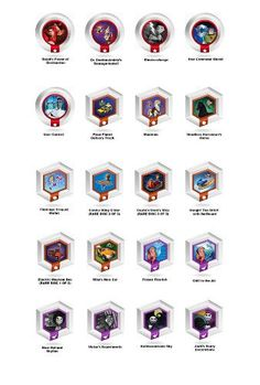 Disney Infinity  Series 2 Power Discs  Complete Set with Album Case >>> Continue to the product at the image link.