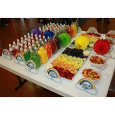 Rainbow Birthday Buffet