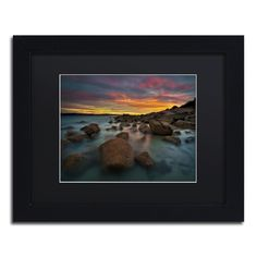 Granite Quarry by Lincoln Harrison Matted Framed Photographic Print