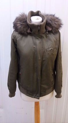 Laura Ashley Ladies Green Hooded Coat Size Small - £3.99 Laura Ashley, Hoods, Winter Jackets, Leather Jacket, Lady, Coat, Green, Fashion, Winter Coats