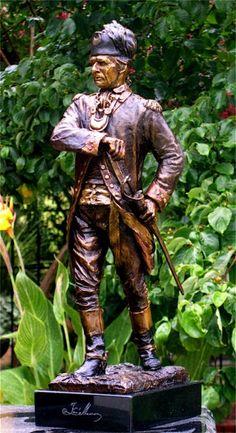 Francis Marion statue - Points of Interest on the Clarendon mural tour (RWTOTS)