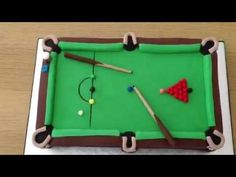 Pool Table Fondant Cake - Bing Images