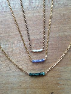 Simple layered necklaces are a great item to add to your skill set as they can be endlessly personalized. Learn the basics and get creative!