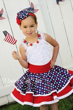 {Tutu Tuesday} SALE.  4th of July Aprons, Leg Warmers, Beaded Necklaces, Pettirompers