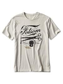 Representing Folsom...worn with a long-sleeve gray thermal underneath