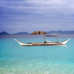 Imagine spending the day floating leisurely in #Palawan's #blue waters.