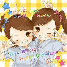 Manamoko - Futami Mami and Futami Ami