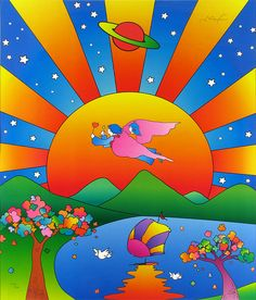 Fayston Elementary Art: Inspired by Peter Max
